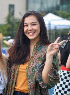 Muthia Kamila Faizah, Community and Regional Development undergraduate student focused on general plans and development. Muthia graduated in 2019 and is working on her masters in city and regional planning at UCLA