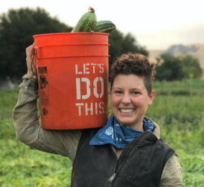 Rachel Lane, a former vegetable farmer pursuing a B.S. in Sustainable Agriculture and Food Systems, with an interest in policy, equitable food systems, and environmental justice.